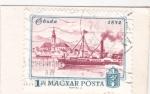 Stamps Hungary -  Buda 1872