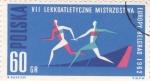 Stamps Poland -  juegos europeos Belgrado'62