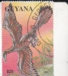 Stamps Guyana -  Animales prehistóricos-