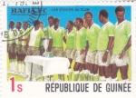 Stamps Guinea -  equipo Hafia F.C