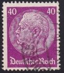 Stamps : Europe : Germany :  Hindenburg