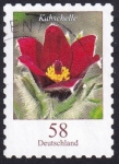 Stamps Germany -  pulsatilla vulgaris