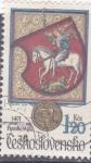 Stamps Czechoslovakia -  escudo San Jorge