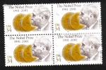 Stamps : America : United_States :  Centenario del Premio Nobel