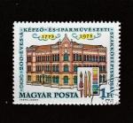 Stamps : Europe : Hungary :  Centenario Escuela de Bellas Artes