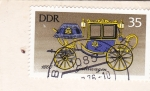 Stamps : Europe : Germany :  CARRUAJE ANTIGUO