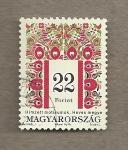 Sellos de Europa - Hungría -  Bordado