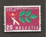 Stamps Switzerland -  RESERVADO MANUEL BRIONES