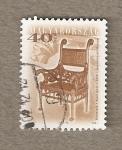 Sellos de Europa - Hungría -  Sillón de 1896 por Ignar Alpac