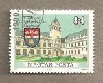 Stamps Hungary -  Escuela de Magisterio