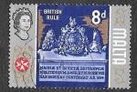 Stamps : Europe : Malta :  321 - Escudo Británico