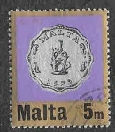 Sellos de Europa - Malta -  441 - Moneda
