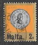 Stamps : Europe : Malta :  443 - Moneda