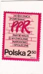 Stamps Poland -  Escritura en la pared