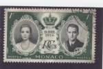 Stamps Europe - Monaco -  boda grace kelly