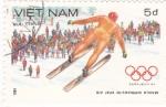 Stamps Vietnam -  OLIMPIADA DE INVIERNO SARAJEVO'84