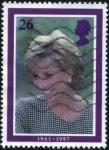 Sellos de Europa - Reino Unido -  Diana
