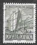 Stamps Poland -  560 - Reconstrucción de los Astilleros de Gdansk