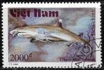 Sellos del Mundo : Asia : Vietnam :  Peces - Triaenodon obesus