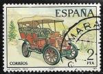 Sellos de Europa - España -  Coches Antiguos - La cuadra