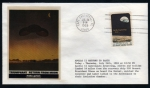 Sellos de America - Estados Unidos -  Apolo XI,  Primer hombre en la Luna