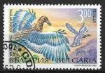 Sellos del Mundo : Europa : Bulgaria :  Animales prehistóricos - Archaeopteryx
