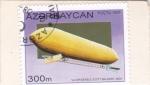 Stamps Azerbaijan -  1er, Dirigible Scott Baldwin 1804