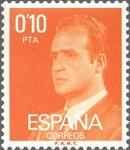 Sellos del Mundo : Europa : España : ESPAÑA 1977 2386 Sello Nuevo Serie Basicas Rey Don Juan Carlos I 0,10p