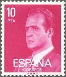 Sellos de Europa - España -  ESPAÑA 1977 2394 Sello Nuevo Serie Basicas Rey Don Juan Carlos I 10p