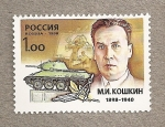 Stamps Russia -  Constructor de tanques