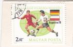 Stamps Hungary -  MUNDIAL ARGENTINA 78