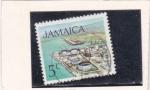 Stamps Jamaica -  Refinería