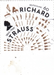 Sellos del Mundo : Europa : Alemania : Richard Strauss