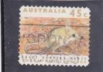 Sellos de Oceania - Australia -  Roedor