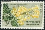 Stamps Africa - Gabon -  Flor