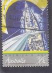 Stamps Australia -  Regata America's Cup