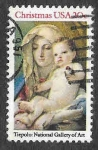 Sellos de America - Estados Unidos -  2026 - Virgen con el Niño