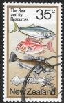 Stamps : Oceania : New_Zealand :  recursos del mar