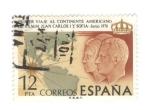 Sellos del Mundo : Europa : España : Edifil 2333. Primer viaje de los reyes de España al continente americano
