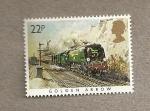 Stamps United Kingdom -  Locomotoras famosas