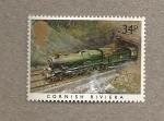 Sellos de Europa - Reino Unido -  Locomotoras famosas
