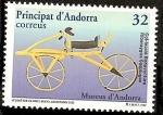 Stamps Andorra -  Museo de la Bicicleta - Velocipedo de Drais