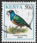 Sellos del Mundo : Africa : Kenya : aves