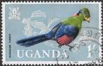 Sellos del Mundo : Africa : Uganda : aves