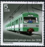 Stamps : Europe : Germany :  Tren