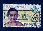 Stamps Spain -  Prodefensa de la vida