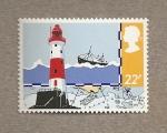 Sellos de Europa - Reino Unido -  rescate marítimo