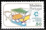 Sellos de Europa - Portugal -  Madeira-cambio