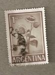 Sellos de America - Argentina -  Planta girasol