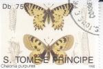 Stamps : Africa : São_Tomé_and_Príncipe :  Mariposas